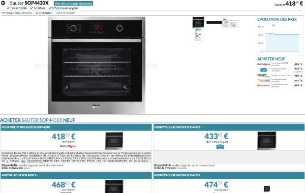 4CLiK - Le prix juste grâce à des partenariats avec les meilleurs sites de e-commerce