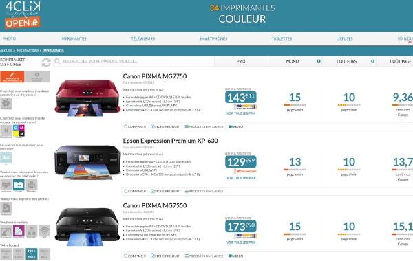 4CLiK - Une navigation ergonomique, rapide et intuitive grâce à l'assistant de recommandation