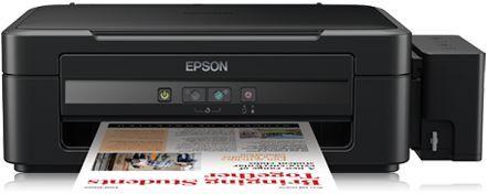 EPSON EcoTank L310 - imprimante multifonction dotée d'un système de réservoirs d'encre intégrés haute capacité pour des impressions couleur fiables et économiques.