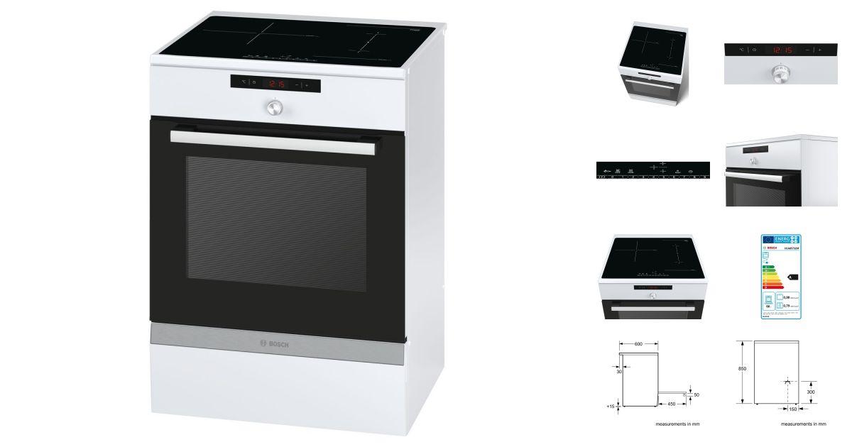 Bosch HCA857320F | Cuisinières