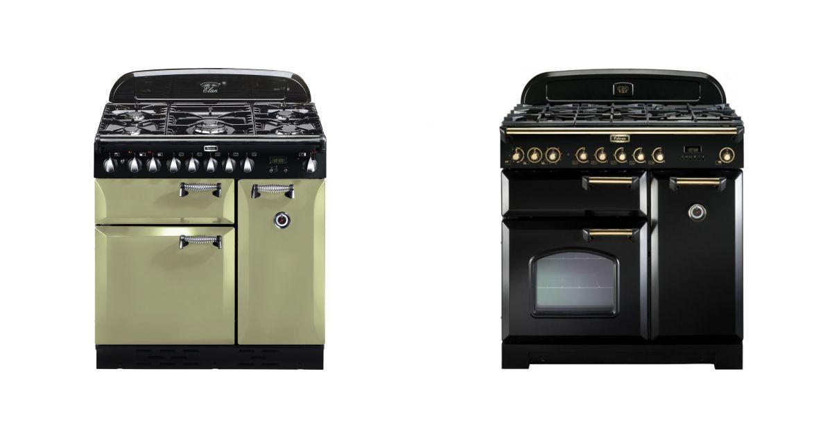 comparatif falcon elas90dfogeu vs falcon classic deluxe 90 df bl b cuisini res. Black Bedroom Furniture Sets. Home Design Ideas