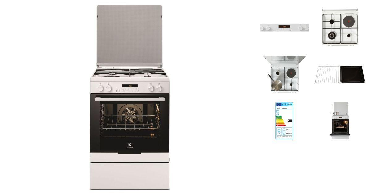 la moitié 608e9 b138f Electrolux EKM6770AOW | Cuisinières