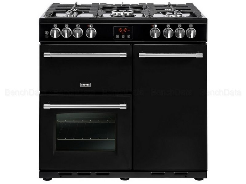 STOVES PGOUR90DFTBLK