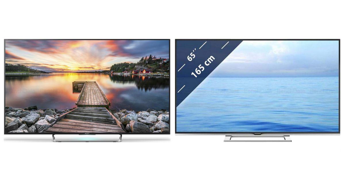 comparatif sony kdl 65w858c vs sony kdl 65w857c t l viseurs. Black Bedroom Furniture Sets. Home Design Ideas
