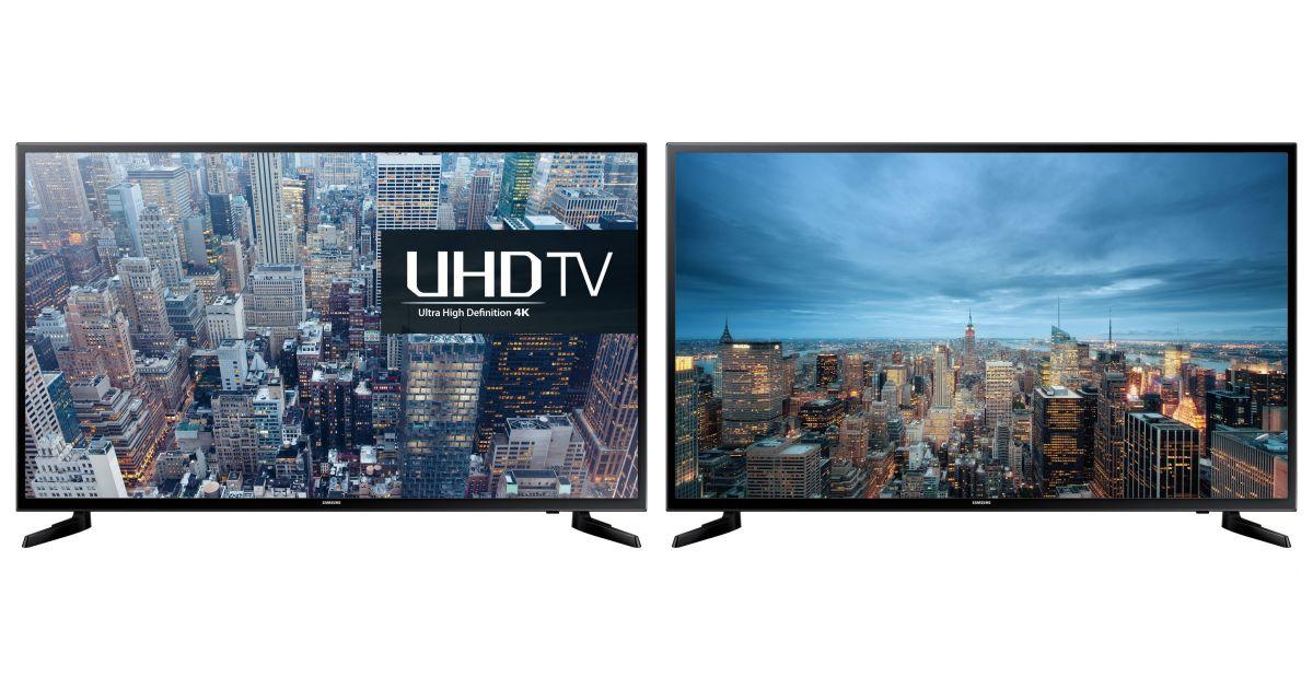 comparatif samsung ue65ju6000k vs samsung ue65mu7045 t l viseurs. Black Bedroom Furniture Sets. Home Design Ideas