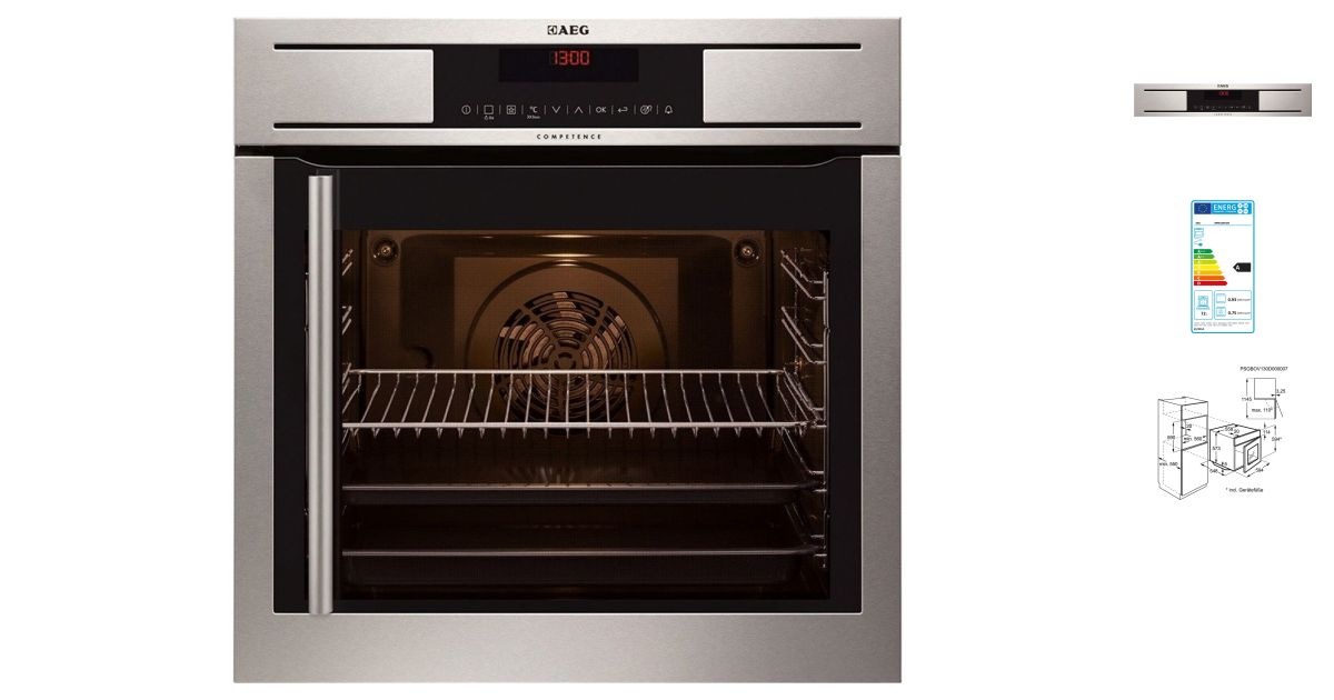 Aeg bp8615001m fours - Four encastrable gaggenau porte laterale ...