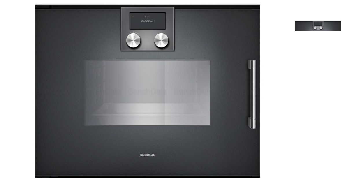 Gaggenau bsp221100 fours - Four encastrable gaggenau porte laterale ...