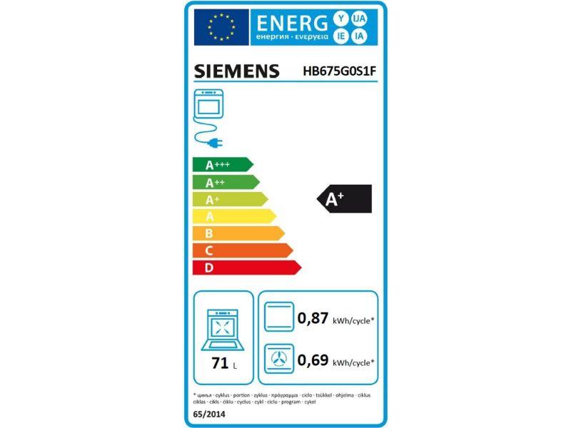 Siemens Hb675g0s1f Fours