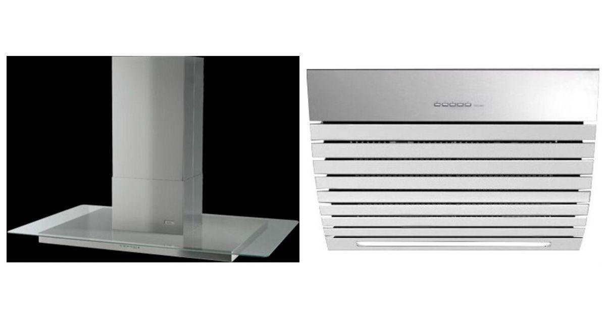 Comparatif roblin atrium 4 verre 900 murale avec moteur vs for Hotte aspirante avec moteur exterieur