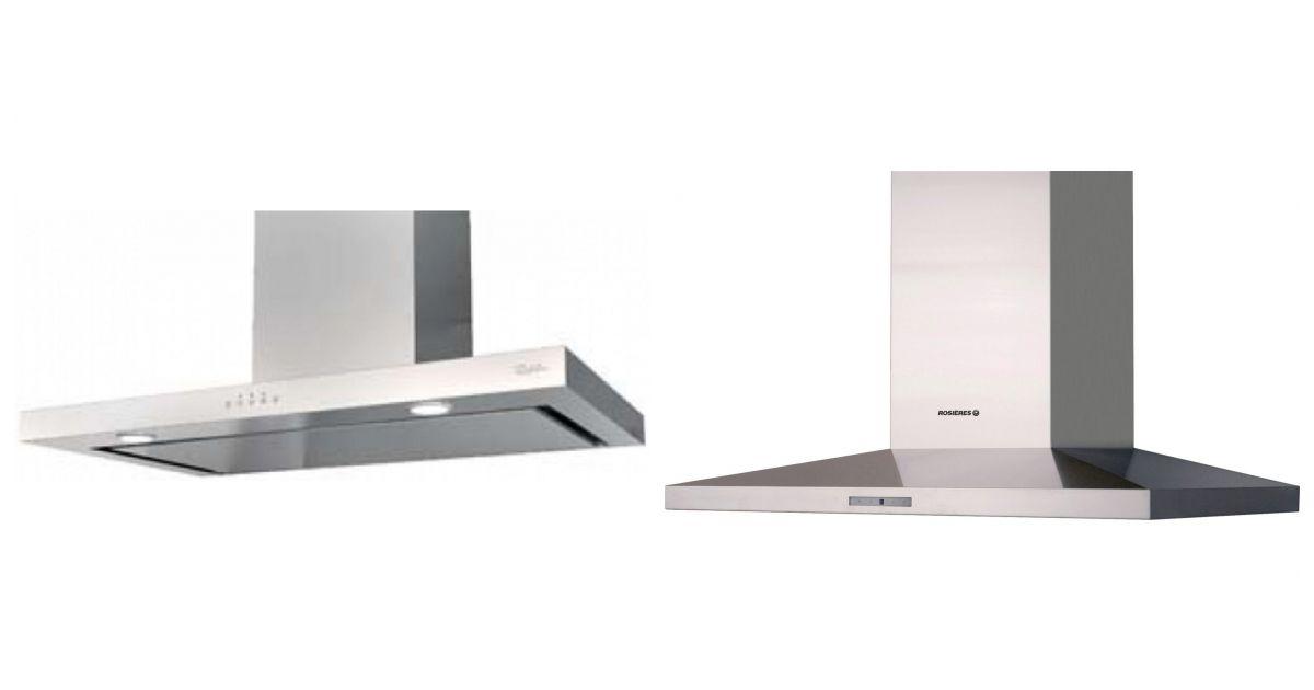 comparatif vs rosi res rhp9700rb hottes. Black Bedroom Furniture Sets. Home Design Ideas