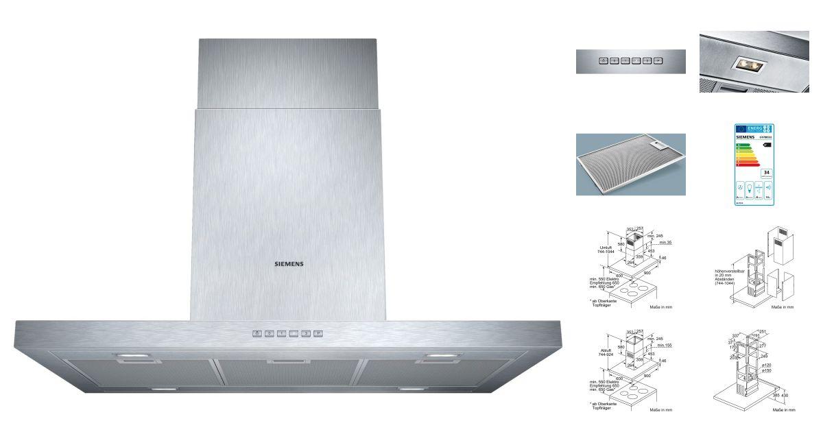 siemens lf97bb532 hottes. Black Bedroom Furniture Sets. Home Design Ideas
