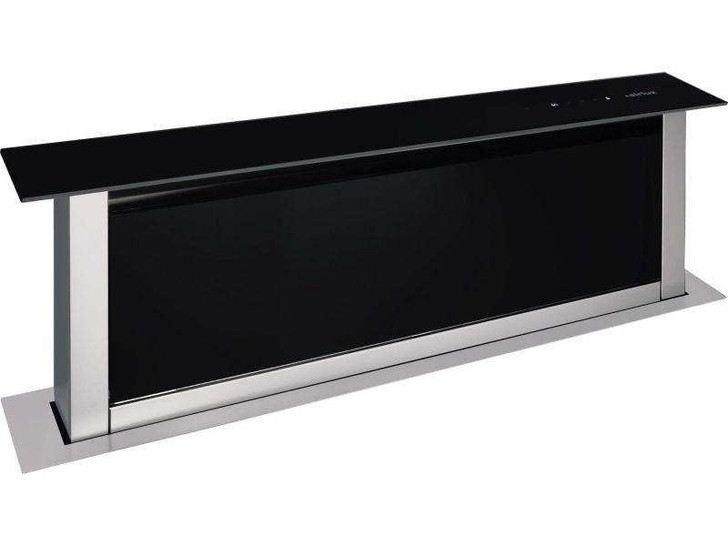 airlux ahv98bk verre noir hottes. Black Bedroom Furniture Sets. Home Design Ideas