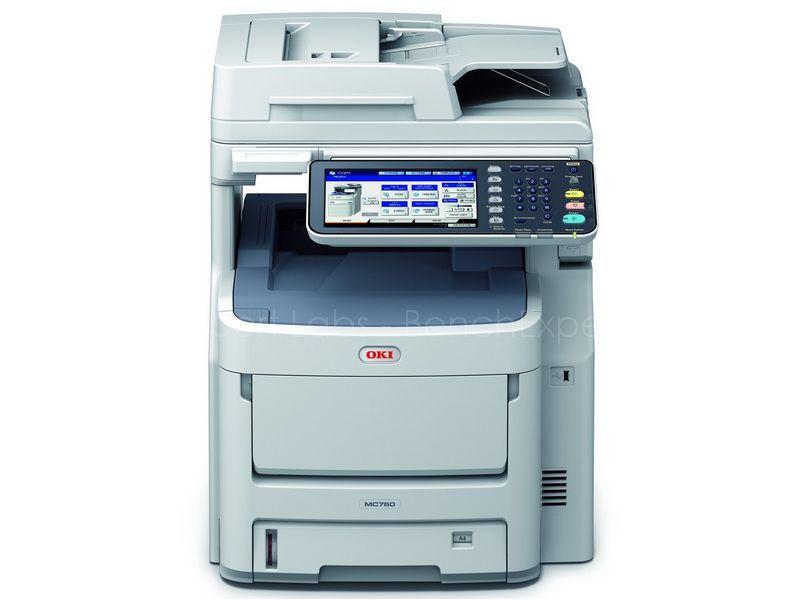 OKI MC760dn fax