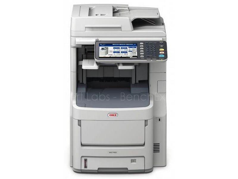 OKI MC780dfn fax