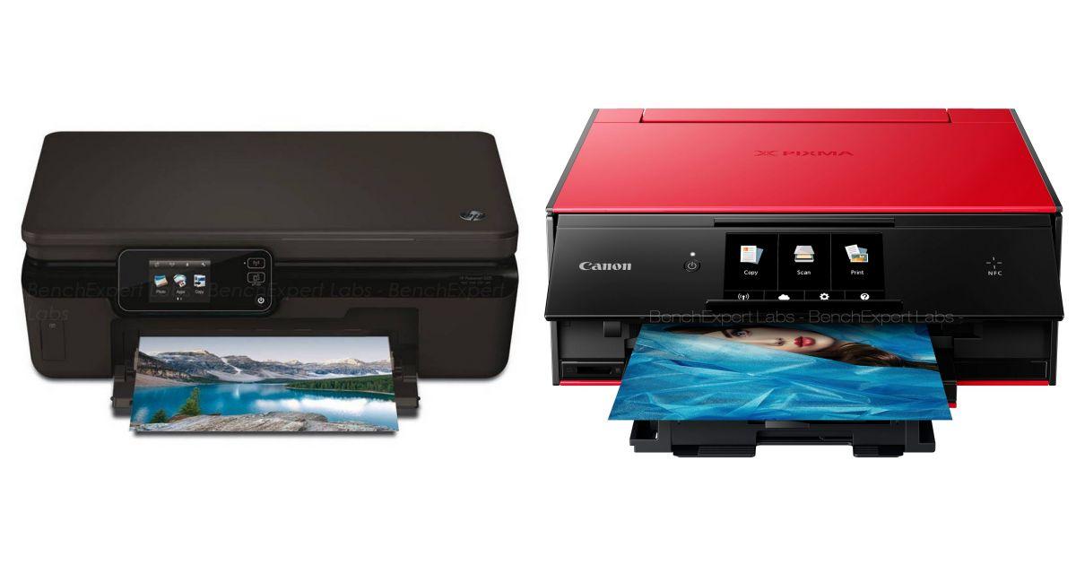 comparatif hp photosmart 5520 e all in one vs canon pixma ts9150 imprimantes. Black Bedroom Furniture Sets. Home Design Ideas