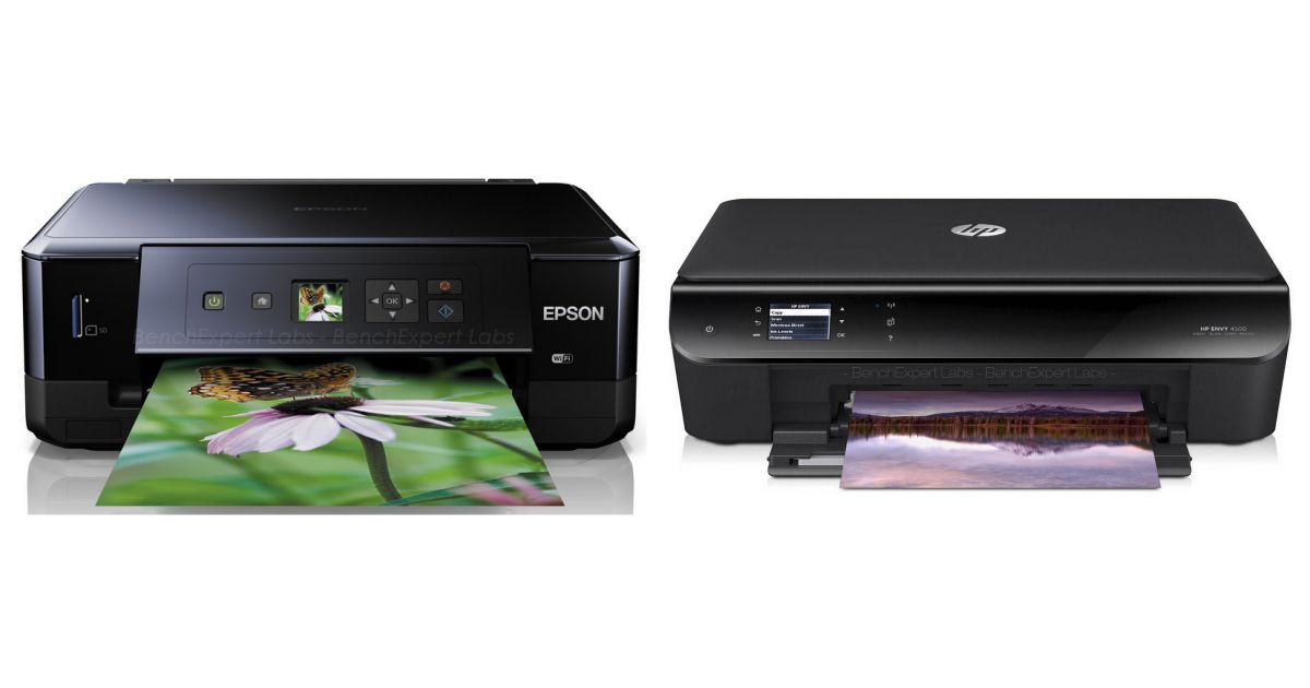 comparatif epson expression premium xp 520 vs hp envy 5640 e all in one imprimantes. Black Bedroom Furniture Sets. Home Design Ideas