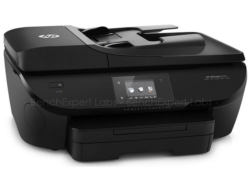 hp officejet 5740 e all in one imprimantes. Black Bedroom Furniture Sets. Home Design Ideas