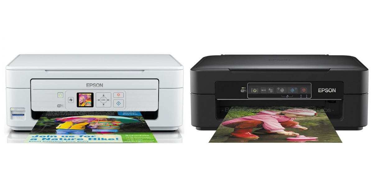 comparatif epson expression home xp 345 vs hp envy photo 6220 aio printer imprimantes. Black Bedroom Furniture Sets. Home Design Ideas