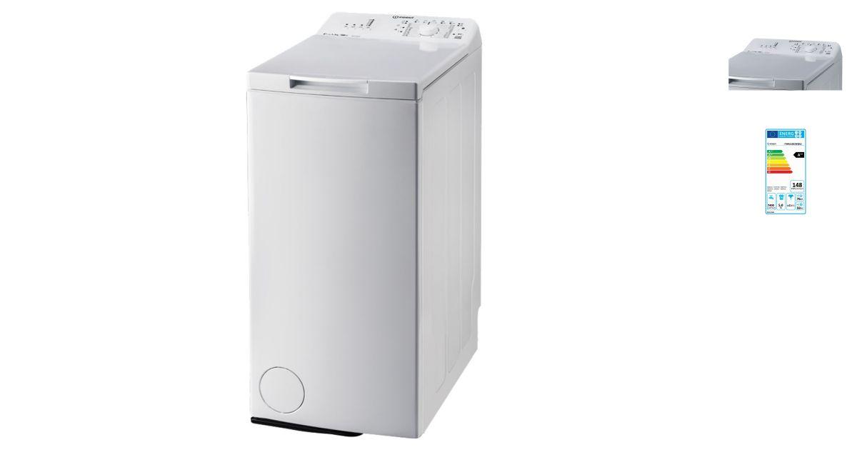 Indesit itwa 51052 w eu lave linge for Consommation d eau machine a laver