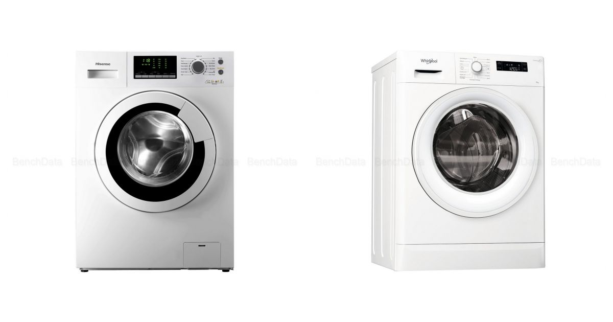 comparatif hisense wfu 6012 we slim vs whirlpool fwsf61252w fr lave linge. Black Bedroom Furniture Sets. Home Design Ideas