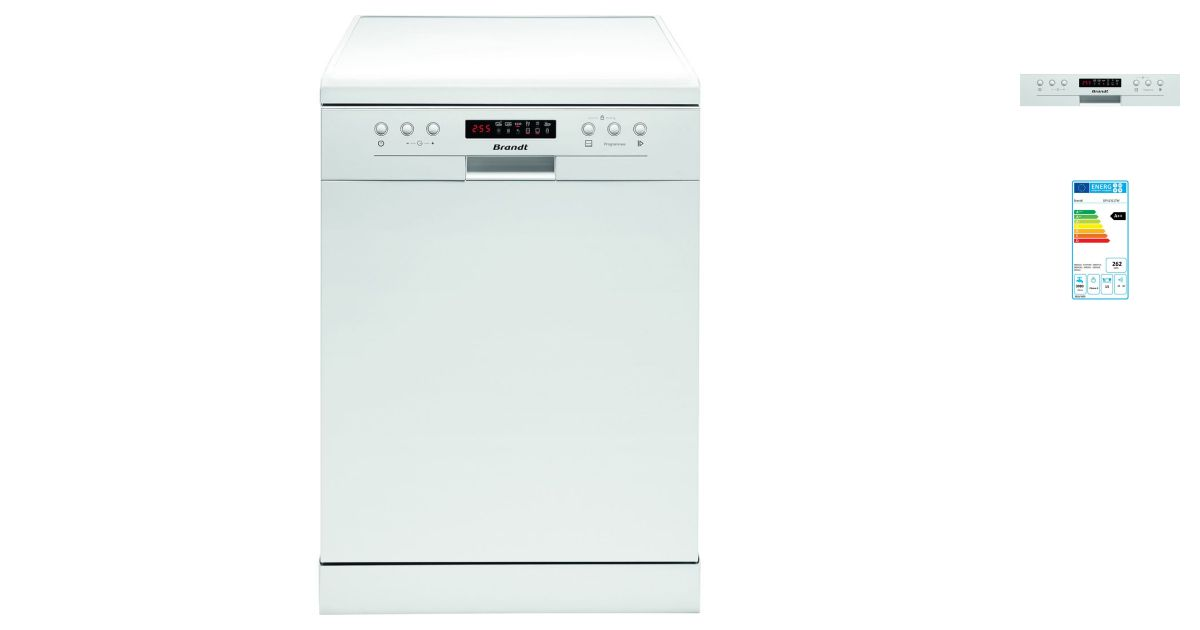 brandt dfh13117w | lave vaisselle