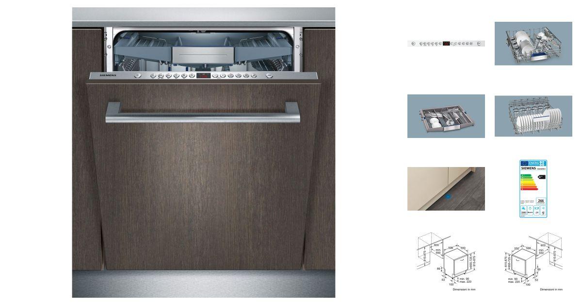 siemens sn66m099eu lave vaisselle. Black Bedroom Furniture Sets. Home Design Ideas