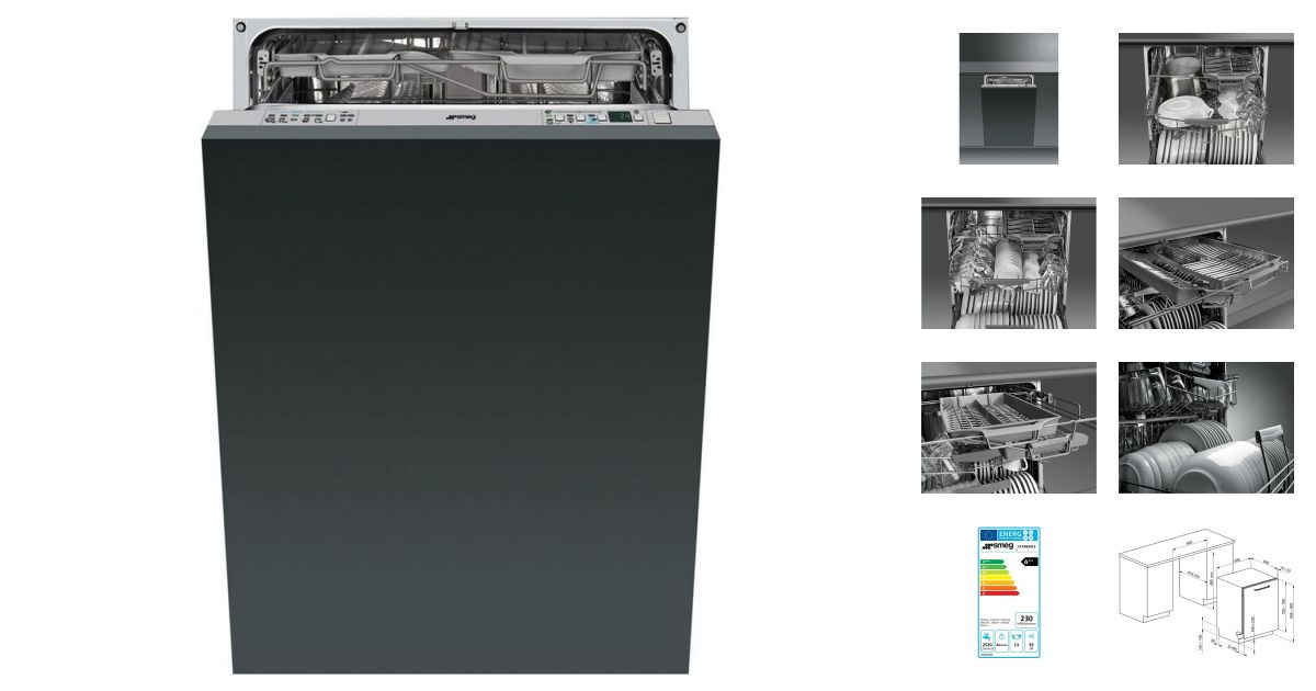 smeg sta8639l3 lave vaisselle. Black Bedroom Furniture Sets. Home Design Ideas
