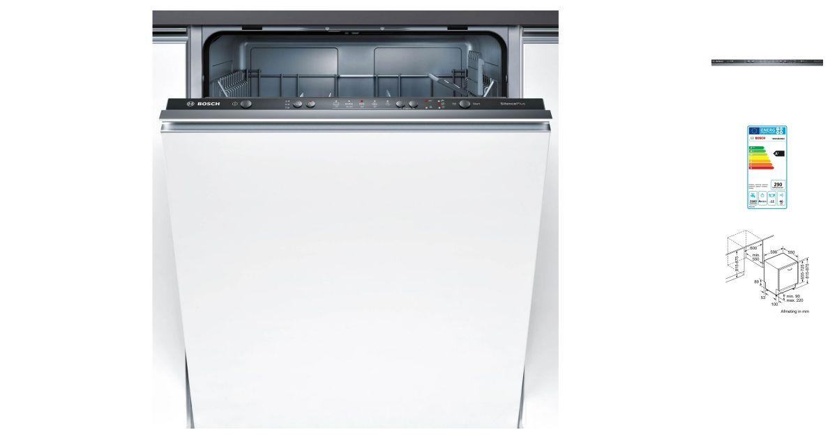 bosch smv50d20eu lave vaisselle. Black Bedroom Furniture Sets. Home Design Ideas