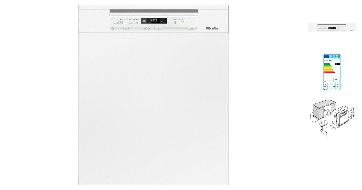 Comparatif miele g 6630 sci bb vs bosch smi69n05eu lave - Lave vaisselle encastrable comparatif ...