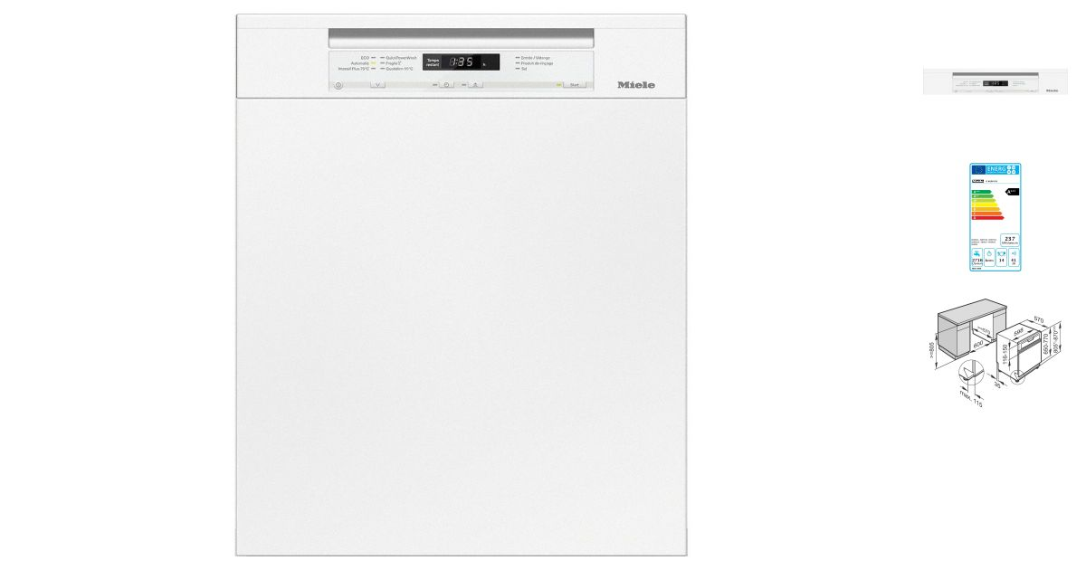 check-out 5c41b a21f8 Miele G 6630 SCI BB