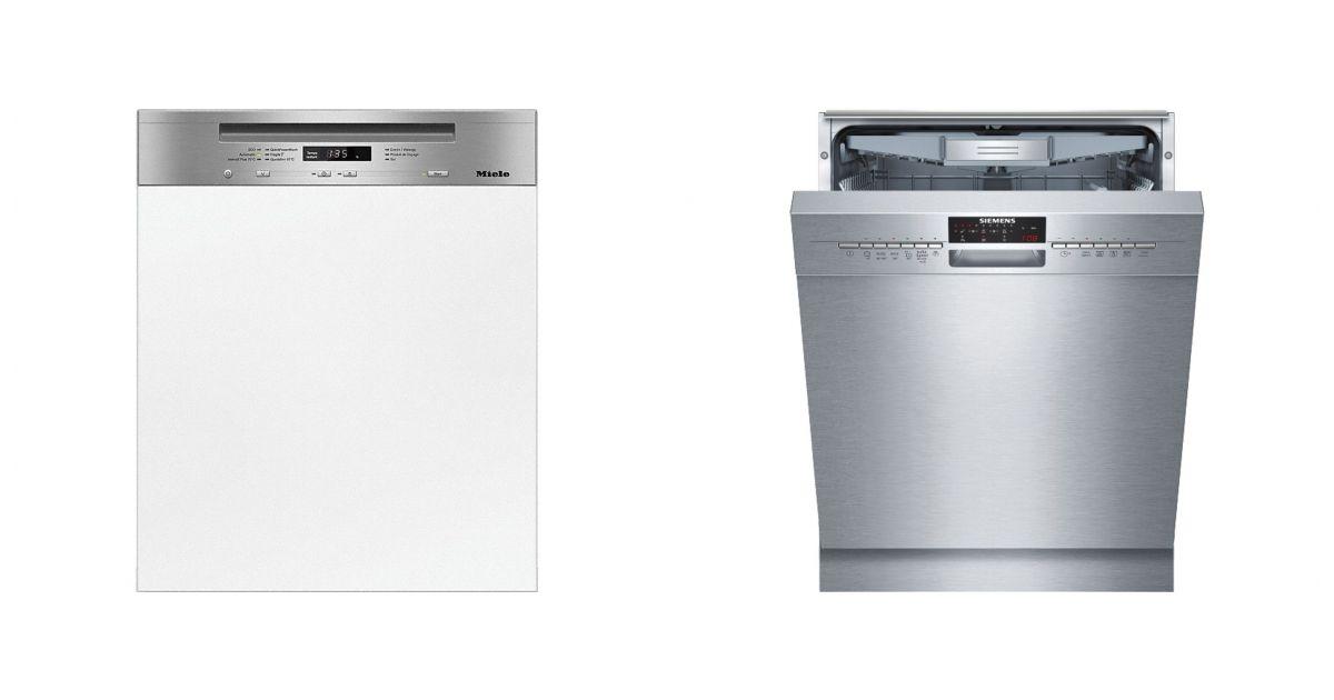 mode designer a3256 7bf3f Comparatif Miele G 6630 SCI IN vs Siemens SN46M592EU | Lave ...