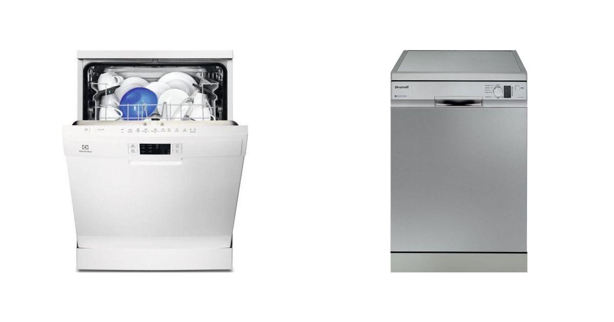 comparatif vs brandt dfh1310x lave vaisselle. Black Bedroom Furniture Sets. Home Design Ideas