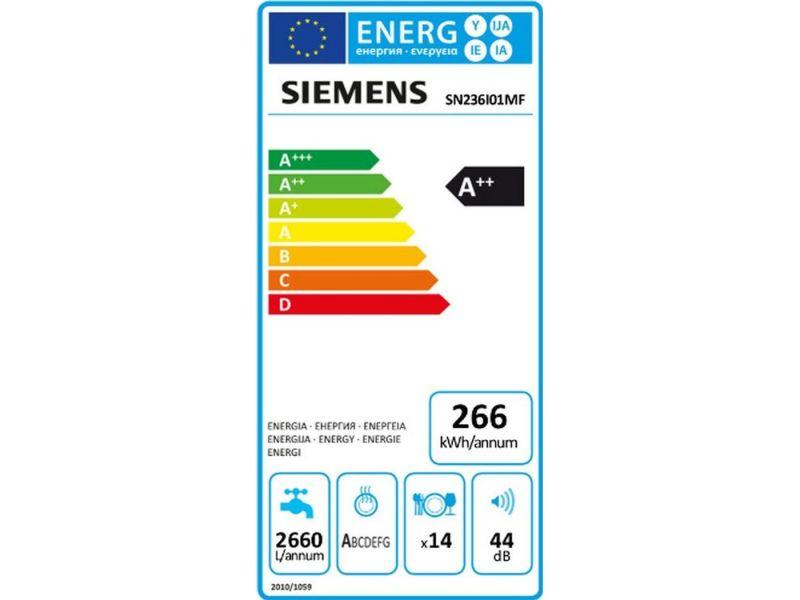 Siemens Sn236i01mf Lave Vaisselle