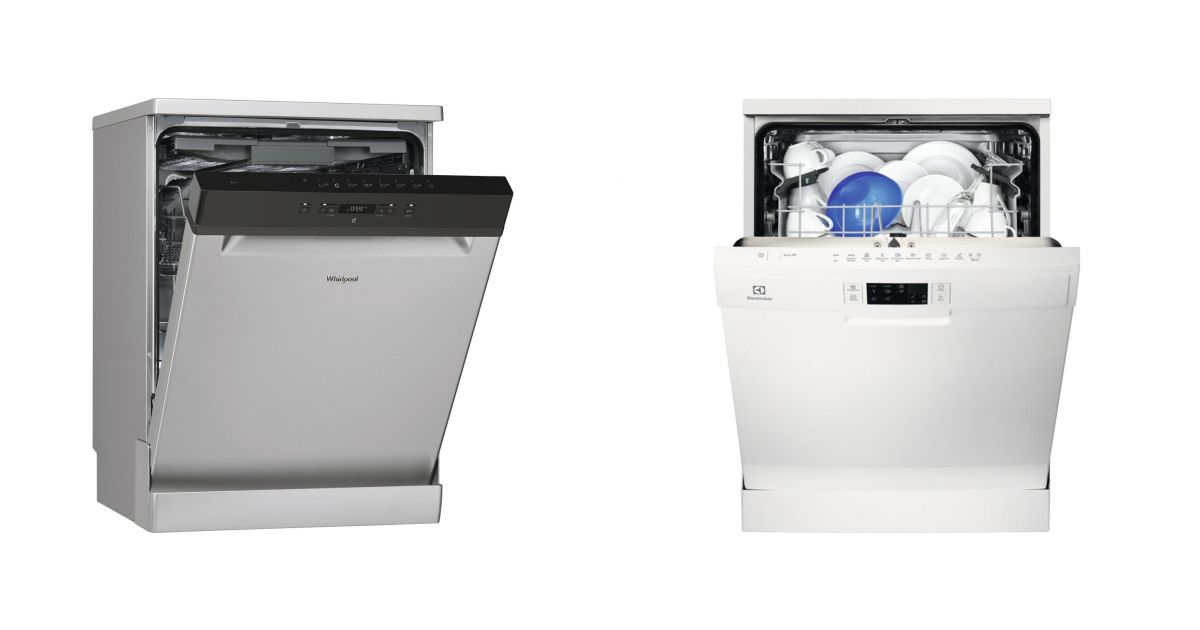 comparatif whirlpool wfc3c26fx vs electrolux esf5513low lave vaisselle. Black Bedroom Furniture Sets. Home Design Ideas