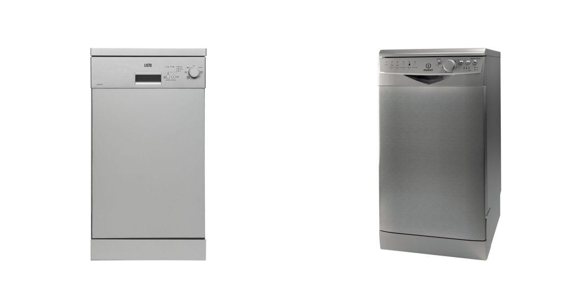 comparatif listo lvs49 l3 silver vs indesit dsr 26b17 nx. Black Bedroom Furniture Sets. Home Design Ideas