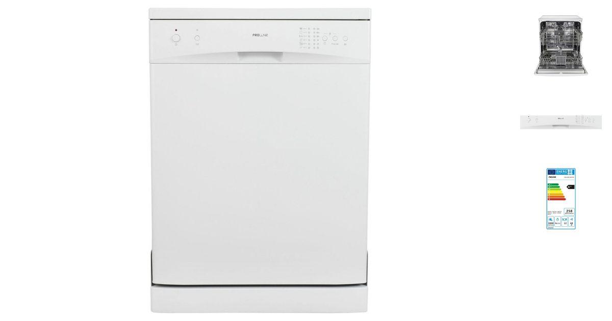 Comparatif proline dw 486 white vs bosch sms63m16ff lave vaisselle - Lave vaisselle proline notice ...