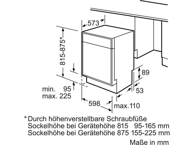 Siemens Sn336m01ge Lave Vaisselle