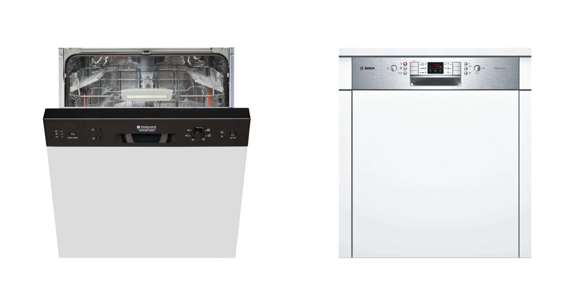 Comparatif hotpoint hsb 7m124 b eu vs bosch smi53m45eu - Lave vaisselle encastrable comparatif ...