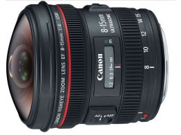 Canon EF 8-15mm f/4L Fisheye USM photo 1