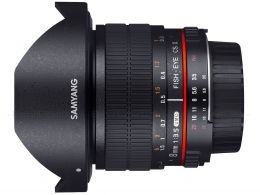 Samyang 8mm F3.5 Aspherical IF MC Fisheye photo 1