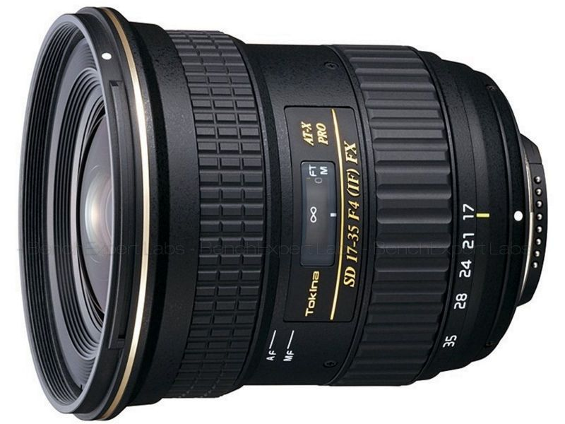 Tokina AT-X 17-35mm f/4 Pro FX
