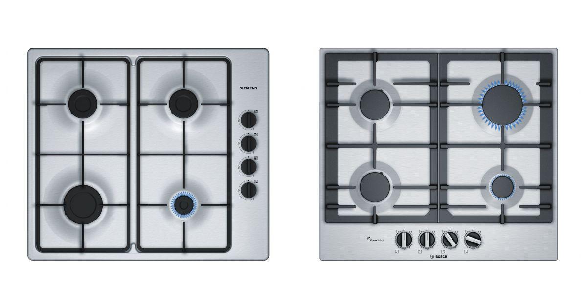 comparatif siemens eb6b5pb60 vs beko hilg64221s plaques. Black Bedroom Furniture Sets. Home Design Ideas