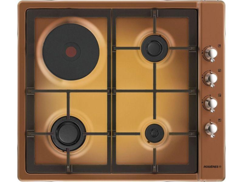 Rosi res rtt 631 fc fav plaques de cuisson - Table de cuisson gaz et electrique encastrable ...