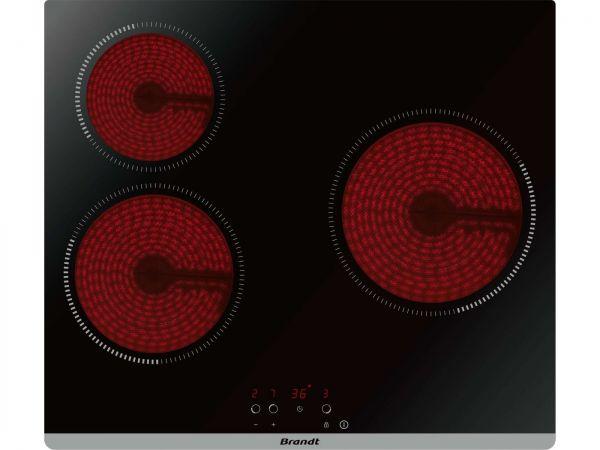 revendeur 67d70 0580a Comparatif Brandt BPV6320B vs Candy CHK63CT | Plaques de cuisson