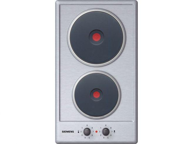 plaques Electrolux EHH3920IOX plaque Int/égr/é, induction, Verre, Noir, Acier inoxydable, Rotatif, En haut devant