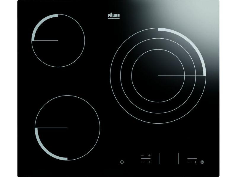 faure fev6332fba plaques de cuisson. Black Bedroom Furniture Sets. Home Design Ideas