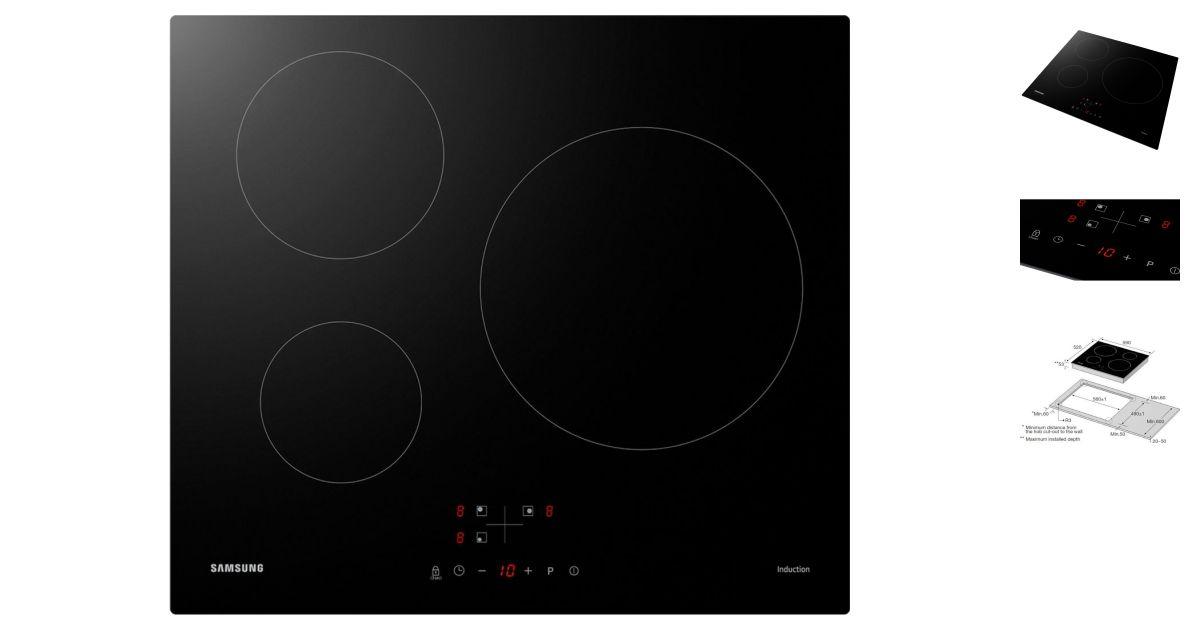 samsung nz63m3nm1bb ur plaques de cuisson. Black Bedroom Furniture Sets. Home Design Ideas