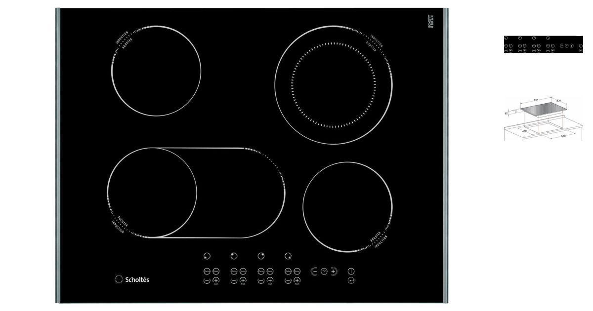 Scholtes tip 744 dol plaques de cuisson for Appareil de cuisson 5 en 1