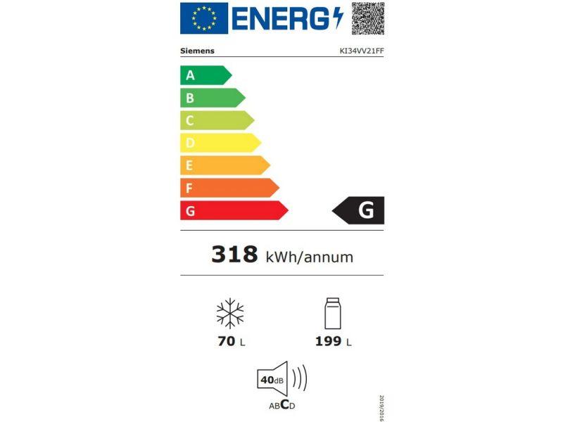 Siemens KI34VV21FF   Refrigérateurs