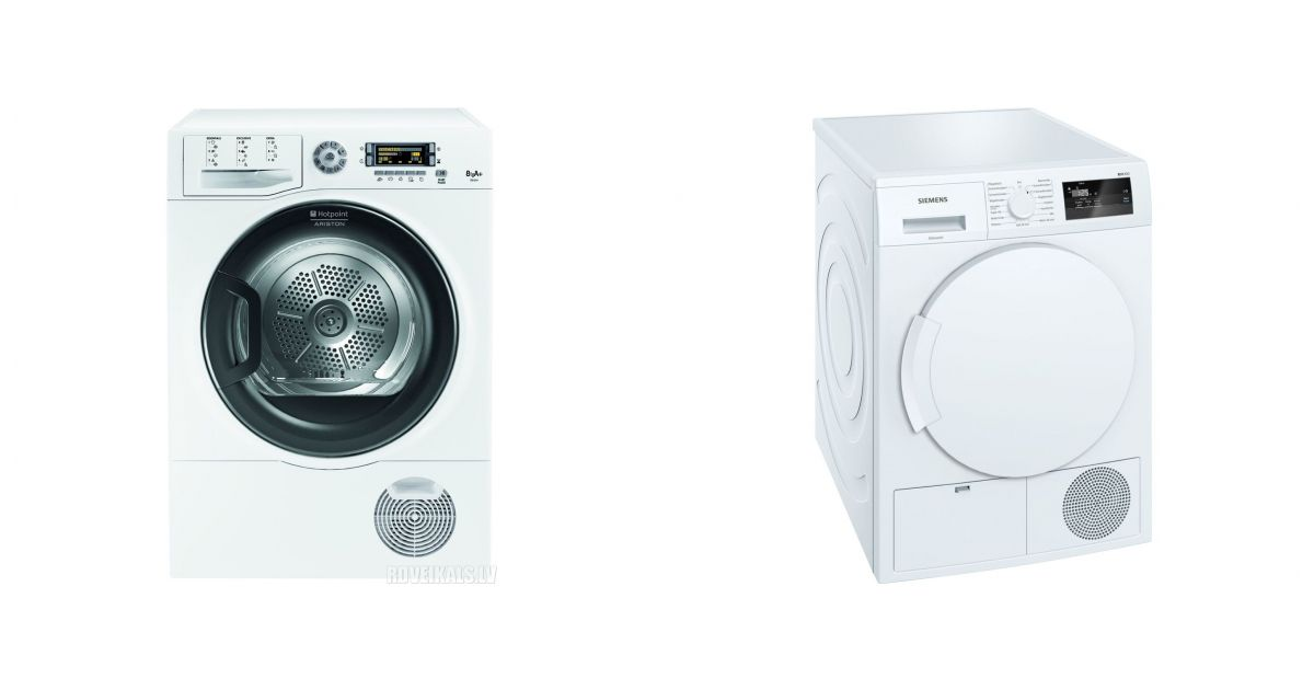 comparatif hotpoint tcd 874 6h1 eu vs siemens wt43h000ff seche linge. Black Bedroom Furniture Sets. Home Design Ideas